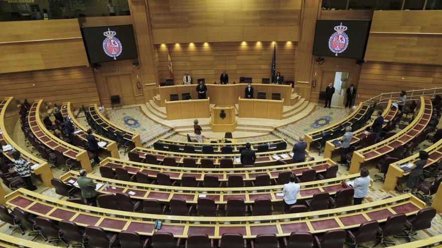 El Senado rechaza las 41 impugnaciones a los PGE