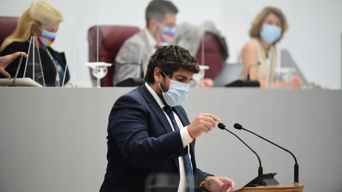 López Miras interviene en el Debate sobre el Estado de la Región