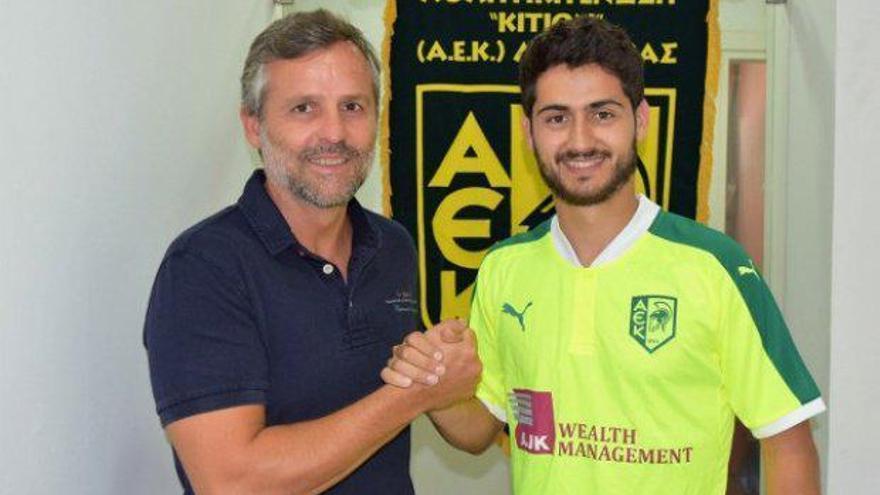 El AEK Larnaca de Juan Pablo y Nacho Cases ante su última prueba en la previa de la Europa League
