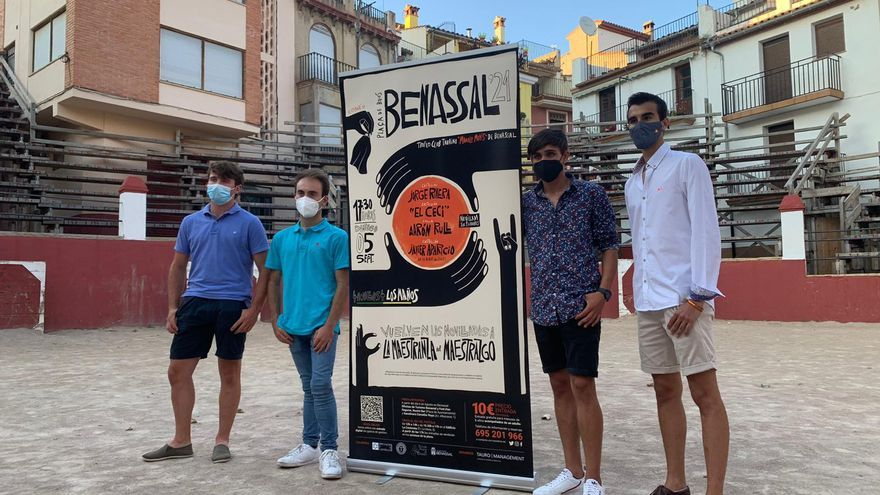 Benassal programa una interesante novillada en la 'Maestranza del Maestrat'