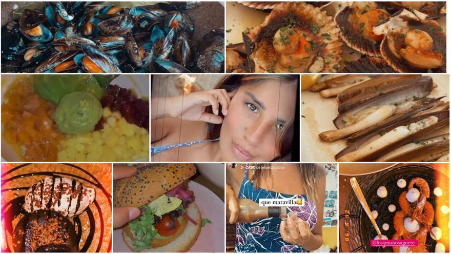 Así disfruta Isa Pantoja de la gastronomía gallega, de día y de noche