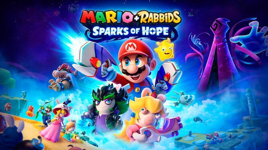 Mario y los Rabbids regresan a Switch con 'Mario + Rabbids Sparks of Hope'