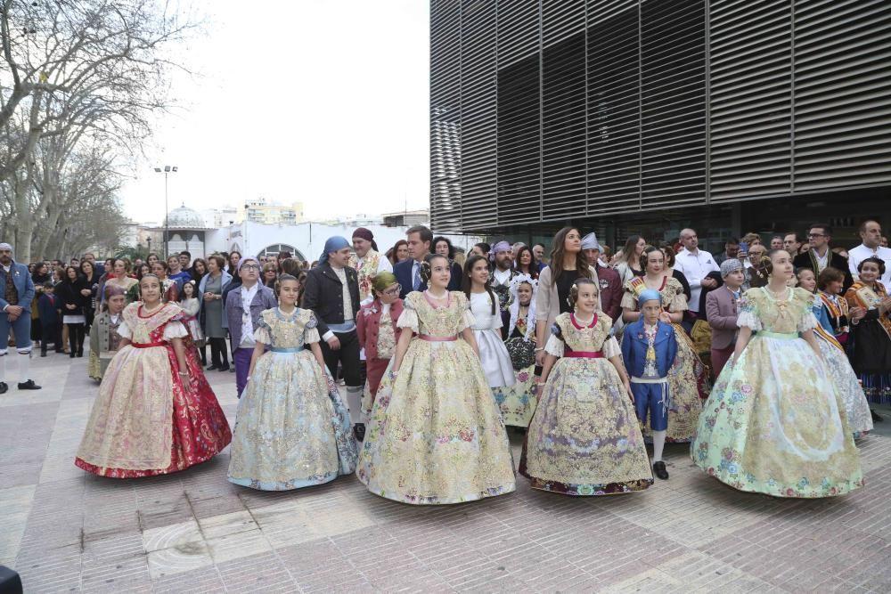 LA COSTERA // XATIVA, PRESENTACION DE LAS FALLERAS MAYORES DE XATIVA