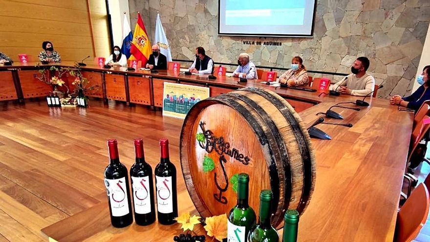 Agüimes refuerza su apoyo al sector vitivinícola con un plan para aumentar la producción