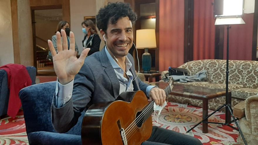 """Pablo Villegas, emocionado con el """"memorable"""" concierto de ayer el el Auditorio"""