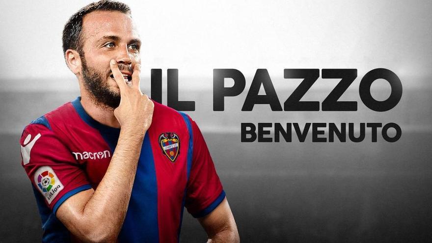 Pazzini, nuevo jugador del Levante
