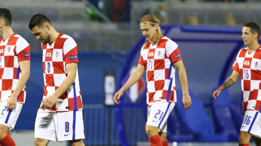Croacia cae eliminada en la Liga de Naciones e Inglaterra cede el liderato de su grupo