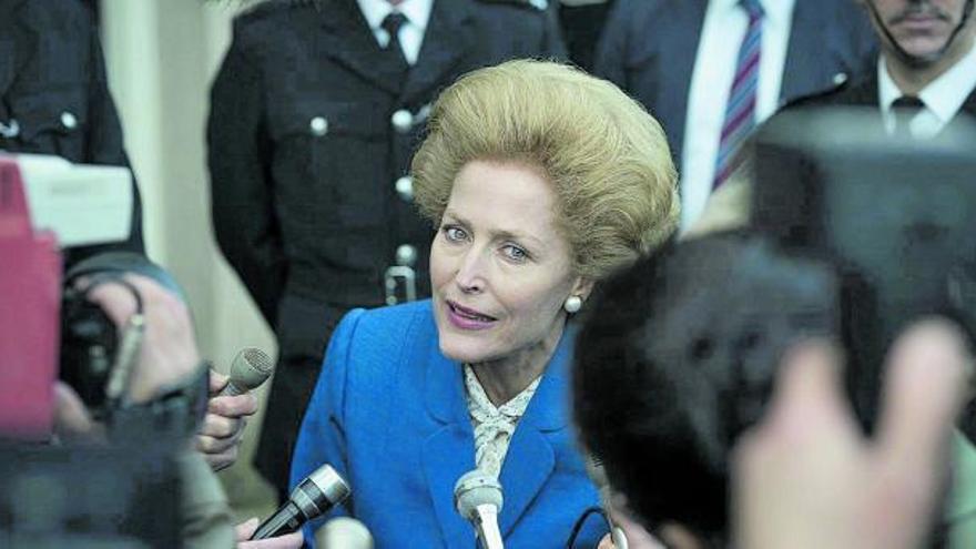 Thatcher y Lady Di