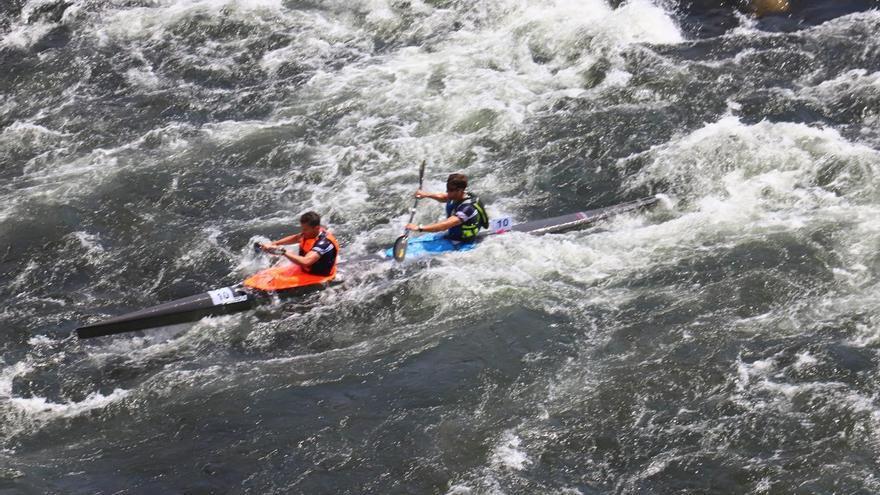 España y Portugal, separadas por un segundo tras setenta kilómetros en la Gold River Race