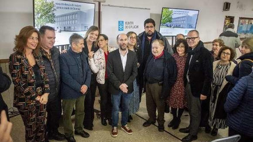 El centro de mayores de O Pino ofrecerá 120 plazas y terapias pioneras en psicogeriatría y alzhéimer