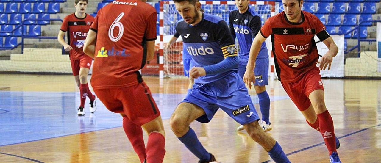 El capitán del Alzira FS, Xavi López, abandona el club tras cuatro temporadas de éxitos.