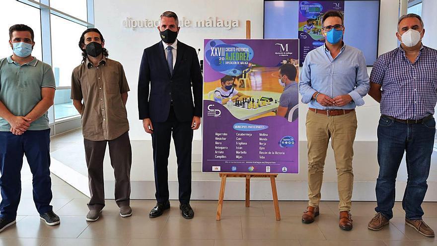 Arranca el Circuito Provincial de Ajedrez Diputación de Málaga en Almáchar