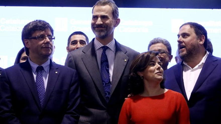 El rei farà tres visites a Catalunya abans de juliol