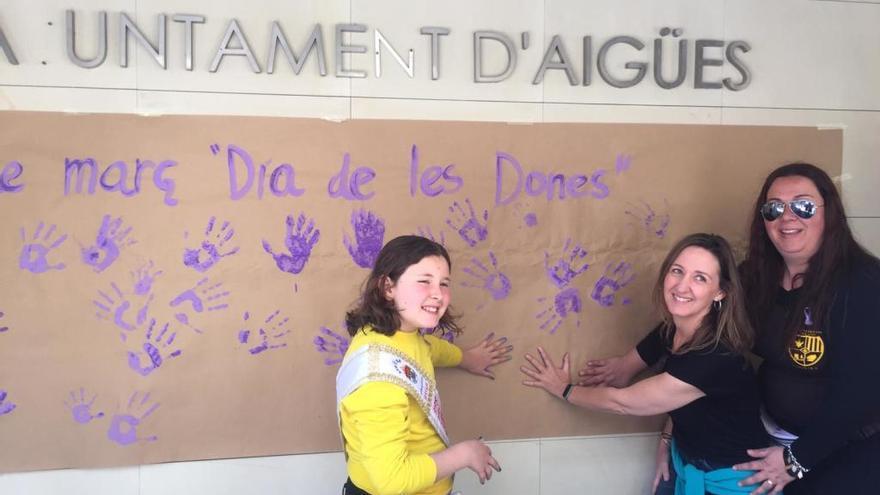 Aigües presenta una Declaración Institucional por un municipio «libre de machismos»