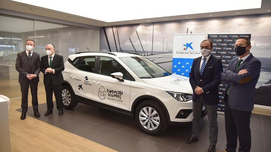 Donan a la Fundación Andrés Olivares un vehículo para el transporte de niños enfermos crónicos complejos