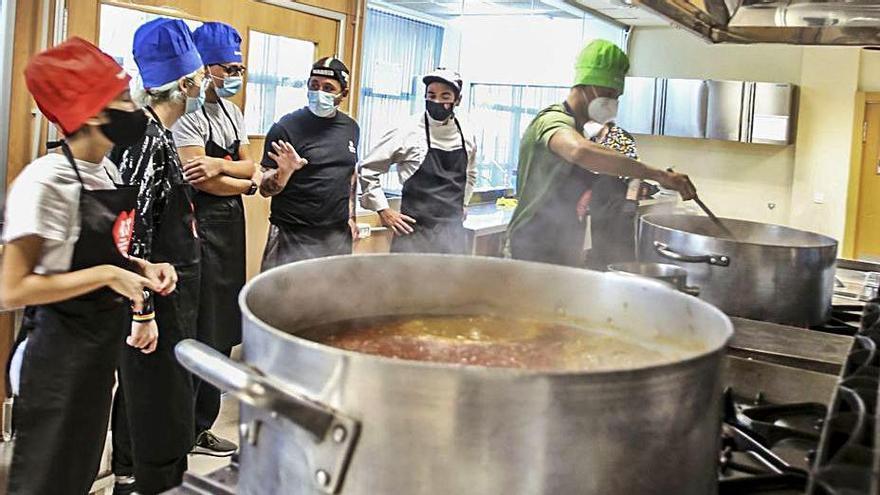 Una escuela para la formación de nuevos cocineros.