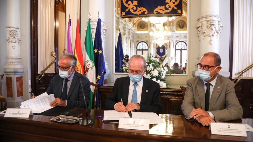 El Ayuntamiento de Málaga e Ibima desarrollarán conjuntamente iniciativas para la mejora de la salud de los malagueños
