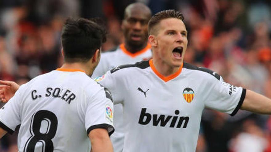Gameiro y Rodrigo, ahora más que nunca en el Valencia
