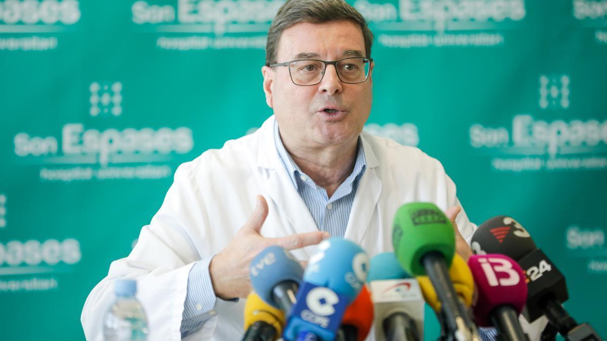 Jordi Reina, jefe de Virología del Hospital Universitario de Son Espases