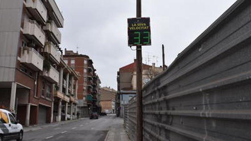 L'Ajuntament de Manresa posa en funcionament quatre radars informatius