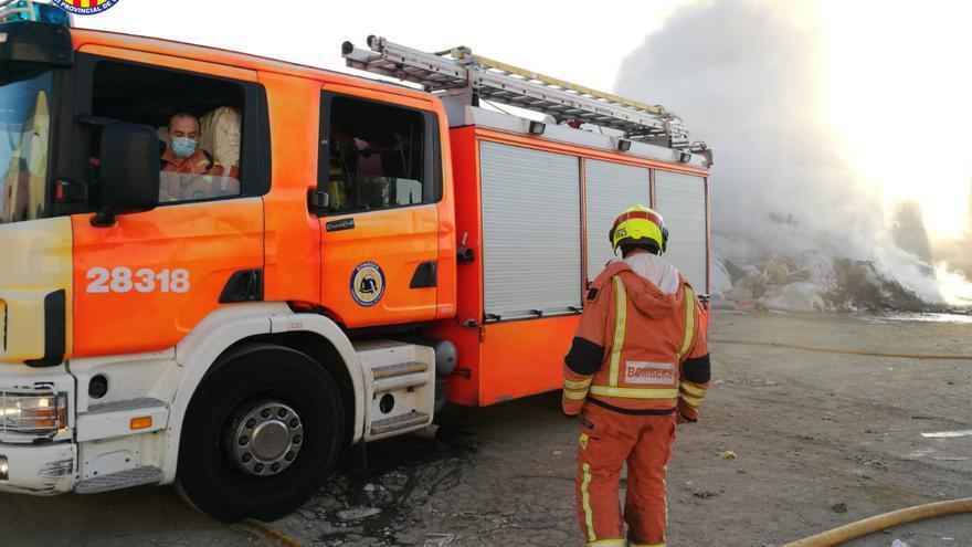 Accidente de una furgoneta con material radioactivo en Oliva