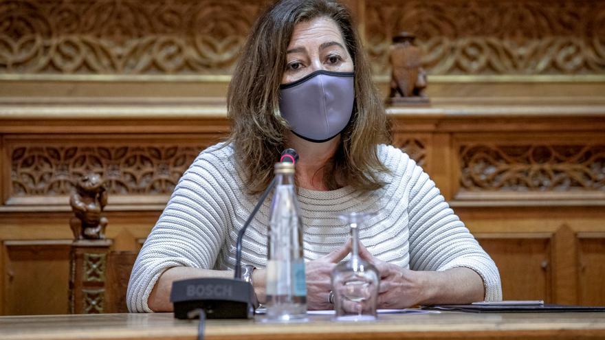 Armengol exige poder aplicar el toque de queda más allá de mayo