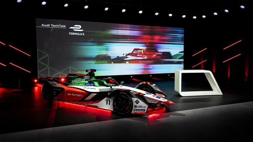 Audi presenta el e-tron FE07, su apuesta para el Mundial de Fórmula E