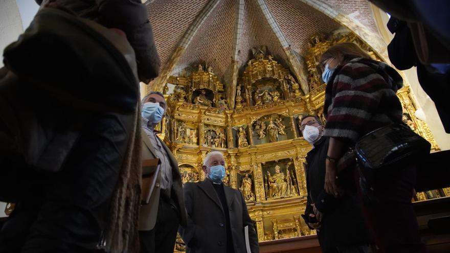 Finaliza la restauración de la torre de la iglesia de Santo Tomás, en Villanueva del Campo