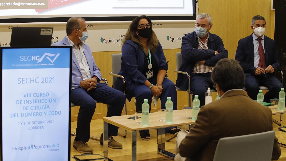 El hospital Quirónsalud reúne en un curso a los principales especialistas de hombro y codo de España.