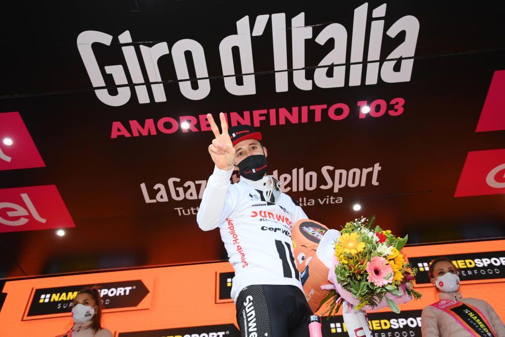 Las imágenes de la 18ª etapa del Giro de Italia.