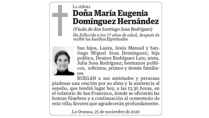María Eugenia Domínguez Hernández
