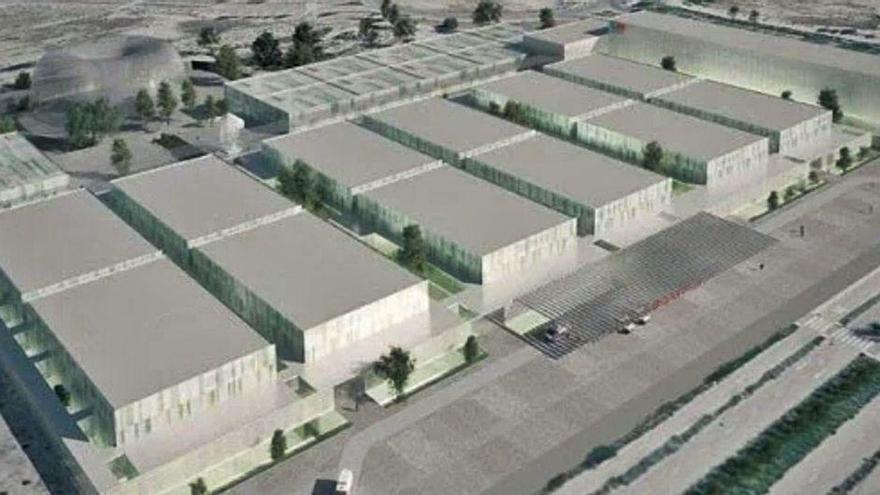 Construyen en O Carballiño la estructura metálica para el nuevo hospital para epidemias de Madrid