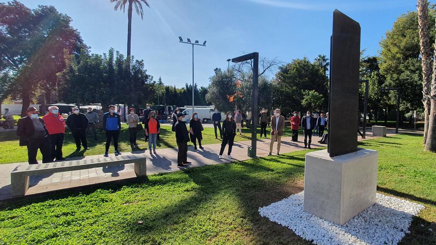 La solidaridad de la pandemia ya tiene un recuerdo en La Pobla de Vallbona