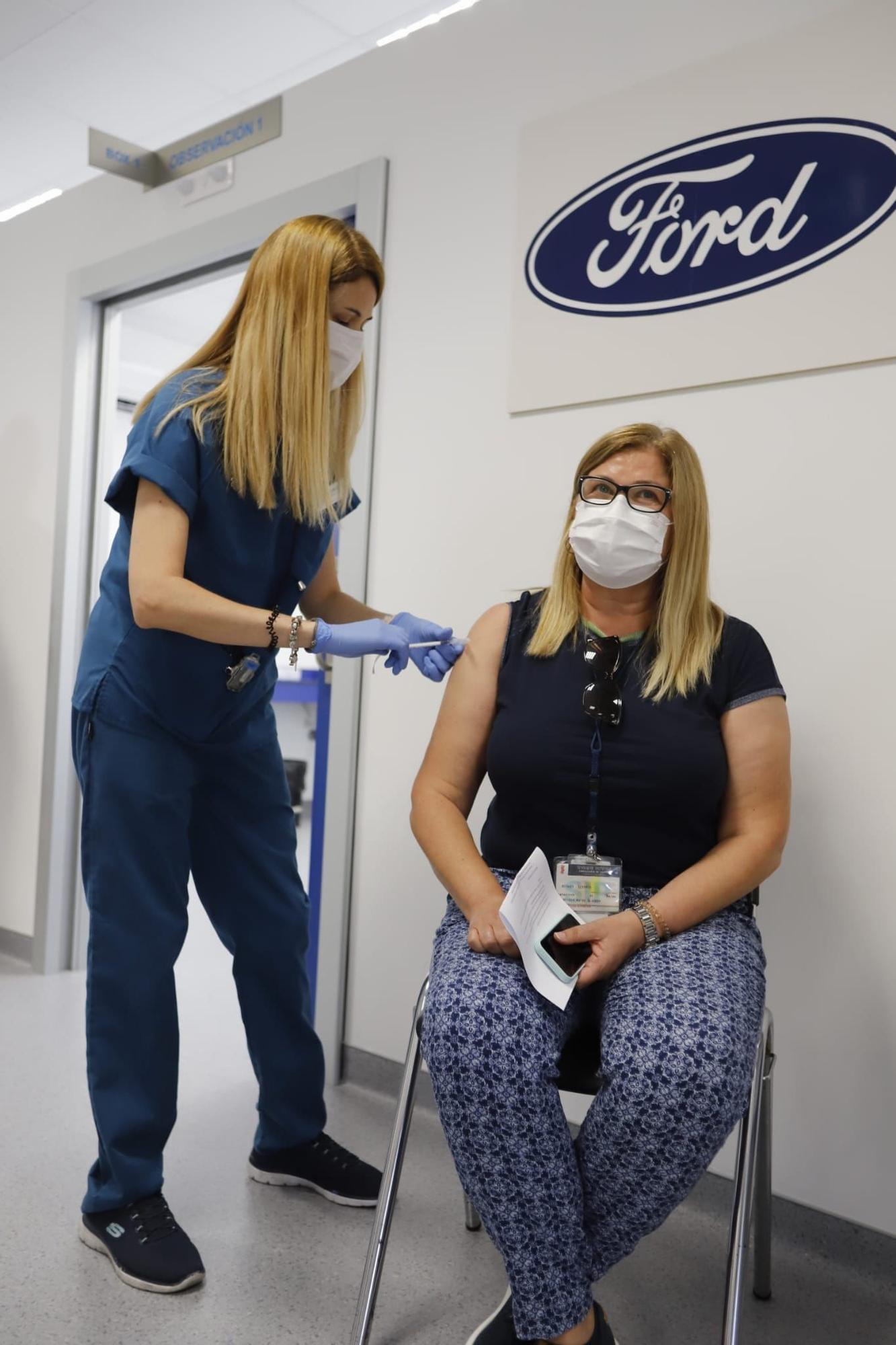 Empieza la vacunación en Ford Almussafes