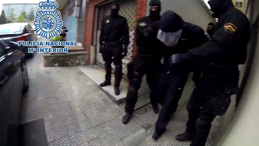 Foto de archivo de una operación policial