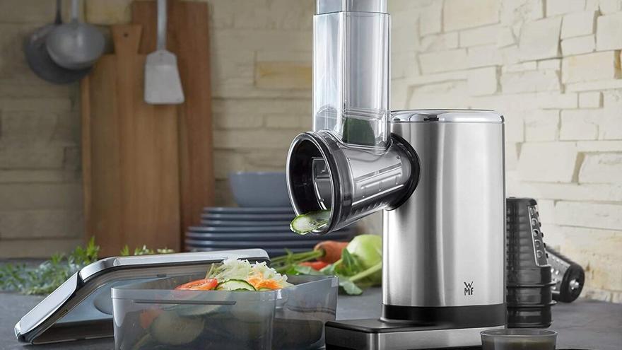 Ralladores eléctricos para desmenuzar ingredientes con rapidez y seguridad