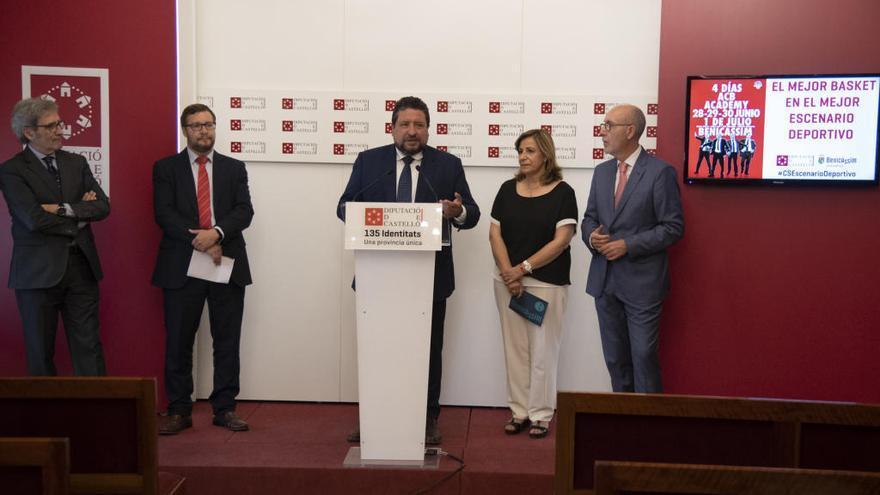 Laso, Vidorreta y Aranzana impartirán curso para entrenadores en Benicàssim