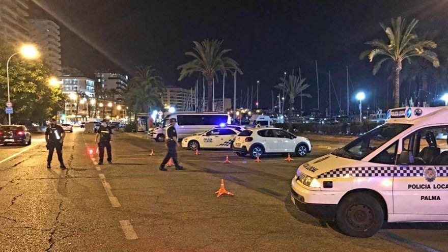 La Policía de Palma levanta 118 actas y cierra un local el fin de semana