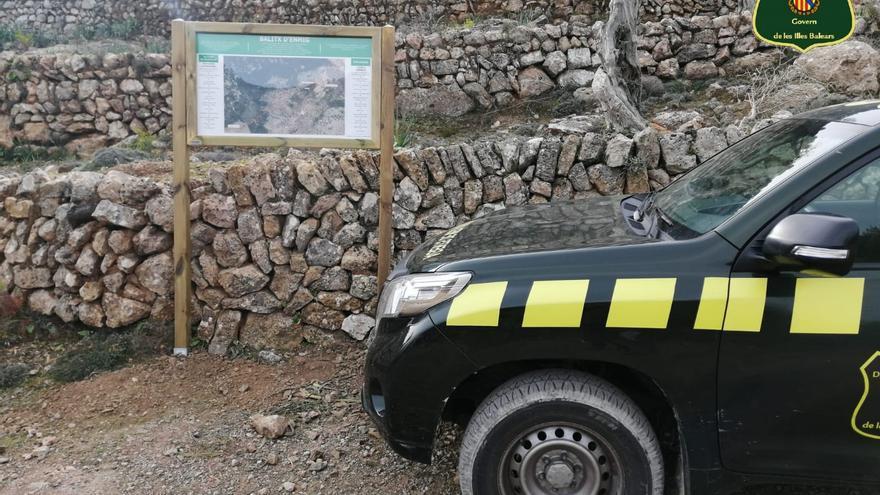 Denuncia por desviar un tramo de la Ruta de la Pedra en Sec en Bàlitx
