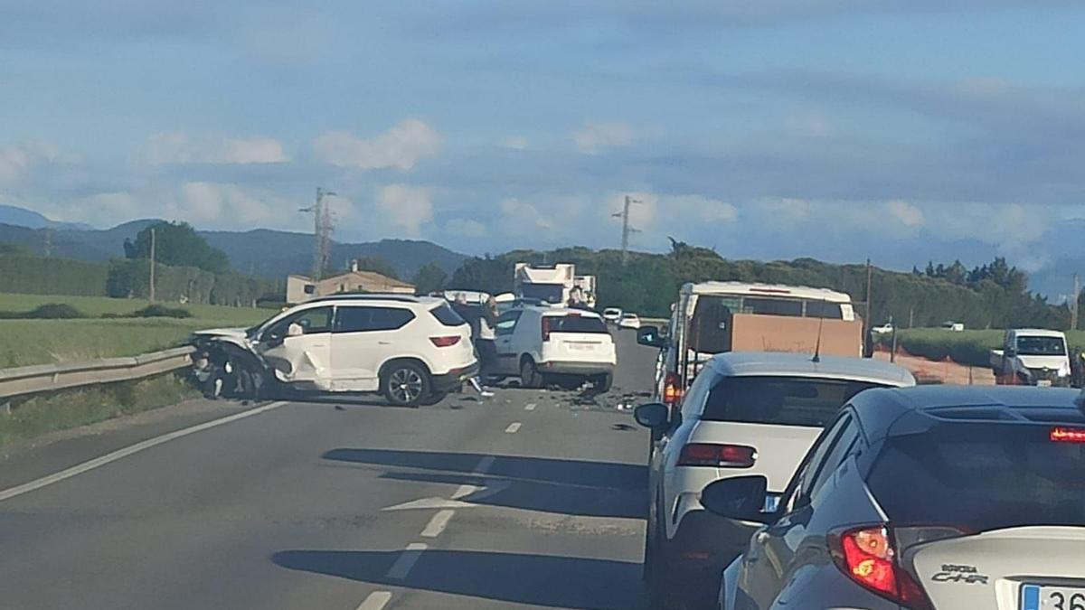 Accident de trànsit a Banyoles