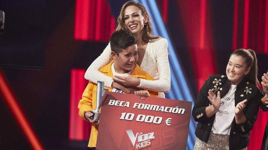 'La Voz Kids' elige a Levi, del equipo de Melendi, como ganador de su sexta edición