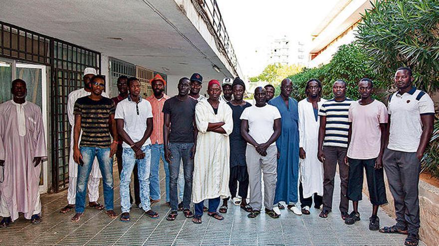 Die Senegalesen verjagen Diebe aus Magaluf
