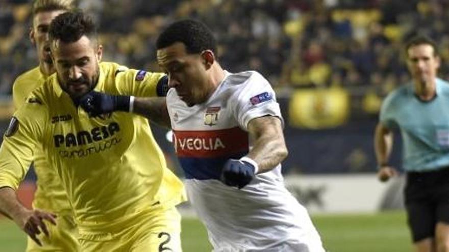 El Villarreal, eliminado tras perder de nuevo ante el Lyon