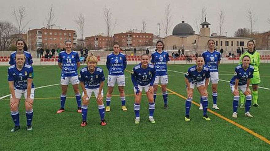 El Real Oviedo Femenino cae tres meses después de su última derrota
