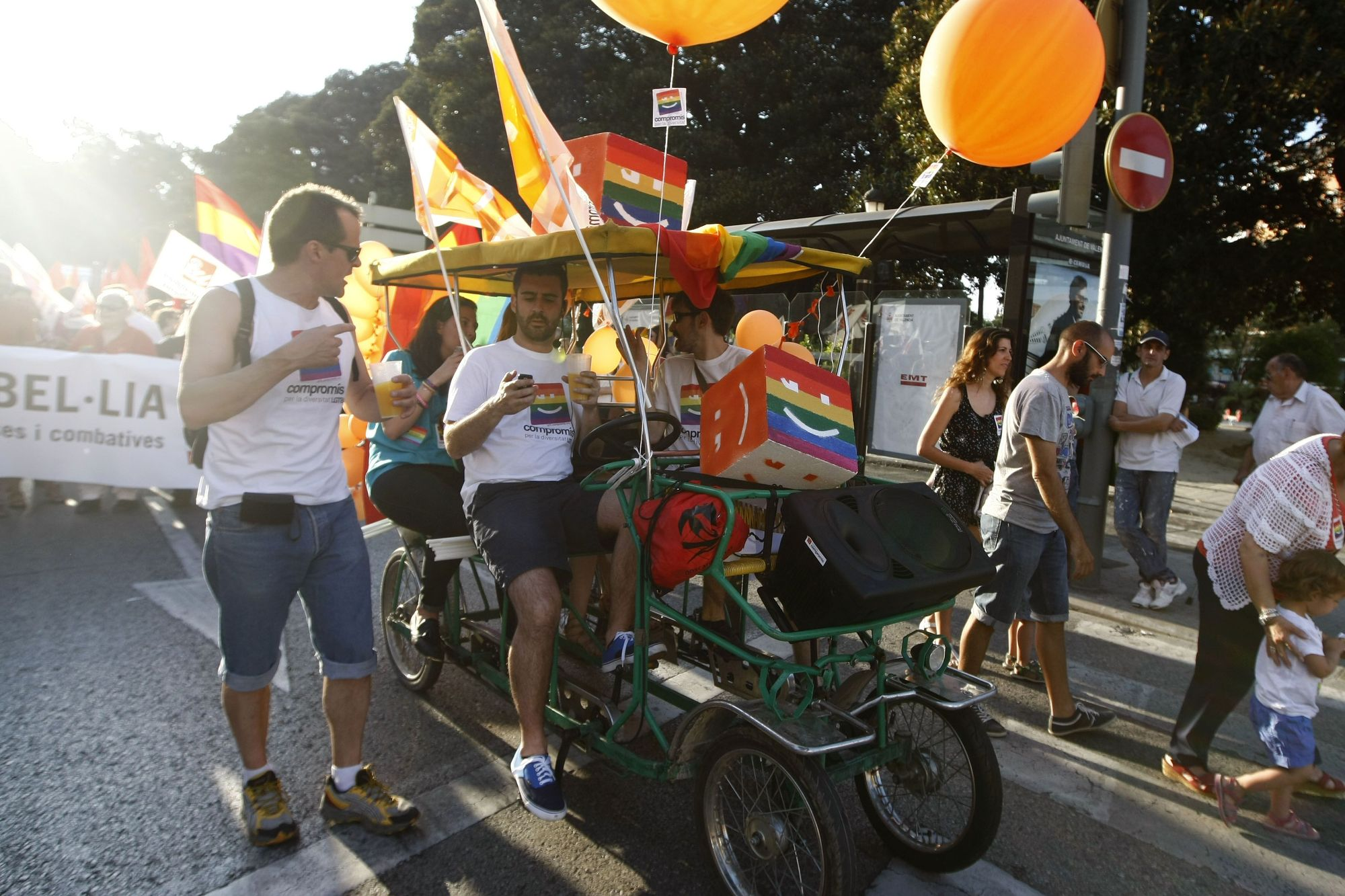 Manifestación y marcha del Orgullo en 2013