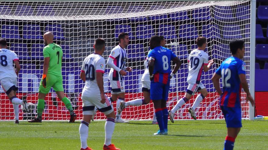Un gran gol de Kevin Rodrigues da la victoria al Eibar ante el Valladolid