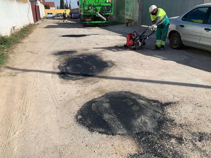 Más de 1,8 millones para el asfaltado urgente en el municipio