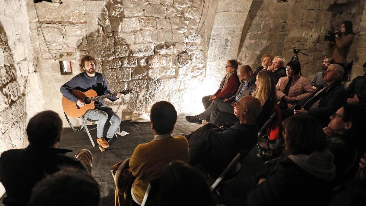 David Mauricio en un concert de la passada edició del festival