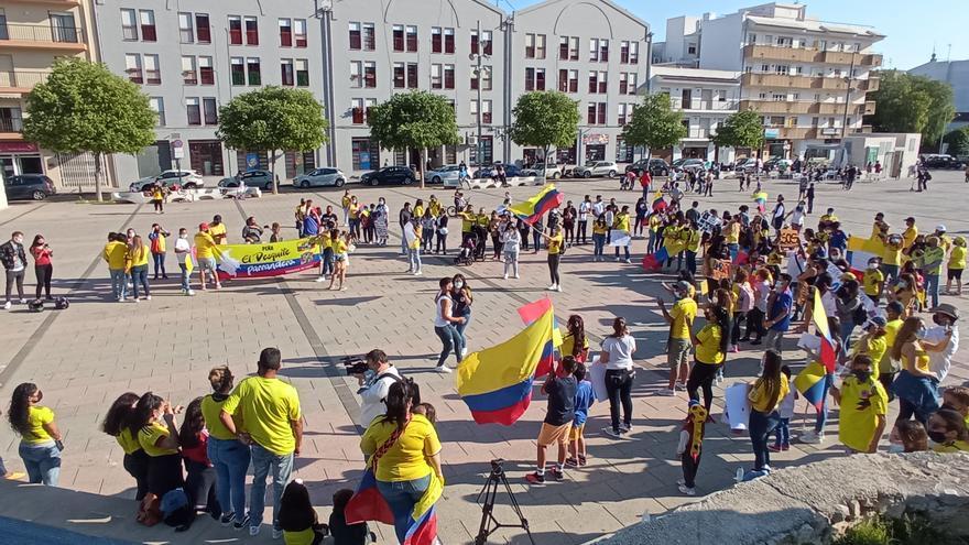 """""""Cali, Jávea está contigo"""", el grito de apoyo de los colombianos de Xàbia"""