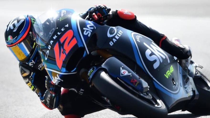 Bagnaia logra su mejor clasificación en Moto2